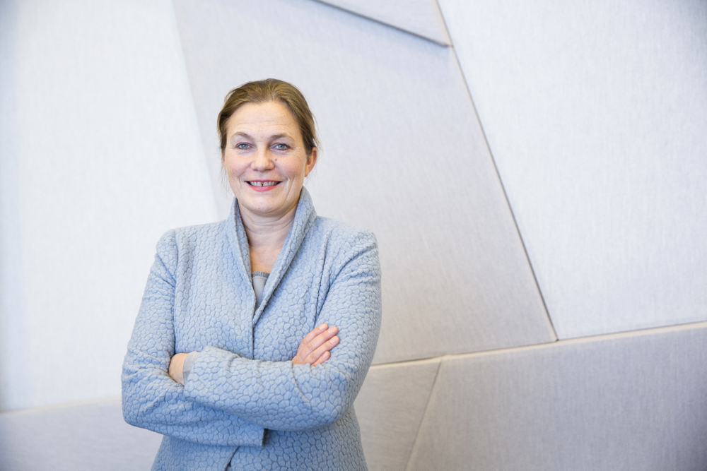 Alexandra Bech Gjørv thinks the tension between NTNU and SINTEF is fundamentally constructive and has served both parties and Norwegian industry well over the years. Photo: Ole Morten Melgård.