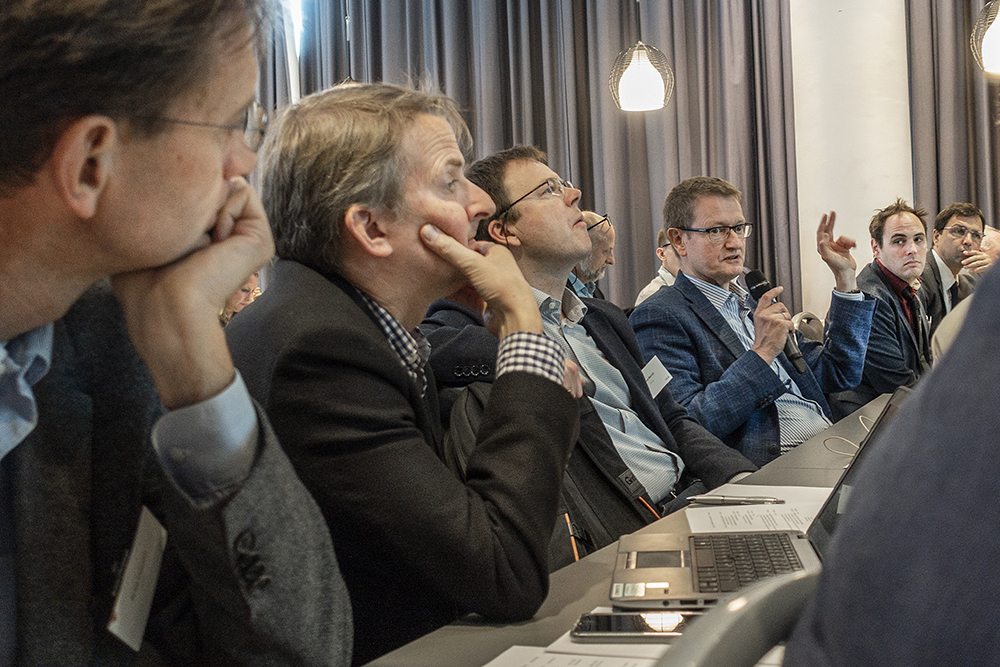 From left: Arild Holm Clausen, Svein Olav Christensen, Tore Børvik, Odd Sture Hopperstad, David Morin, Frank Schäfer.