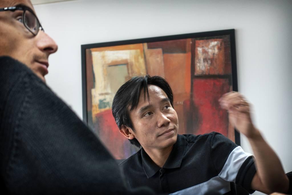 Project leader Hieu Hoang
