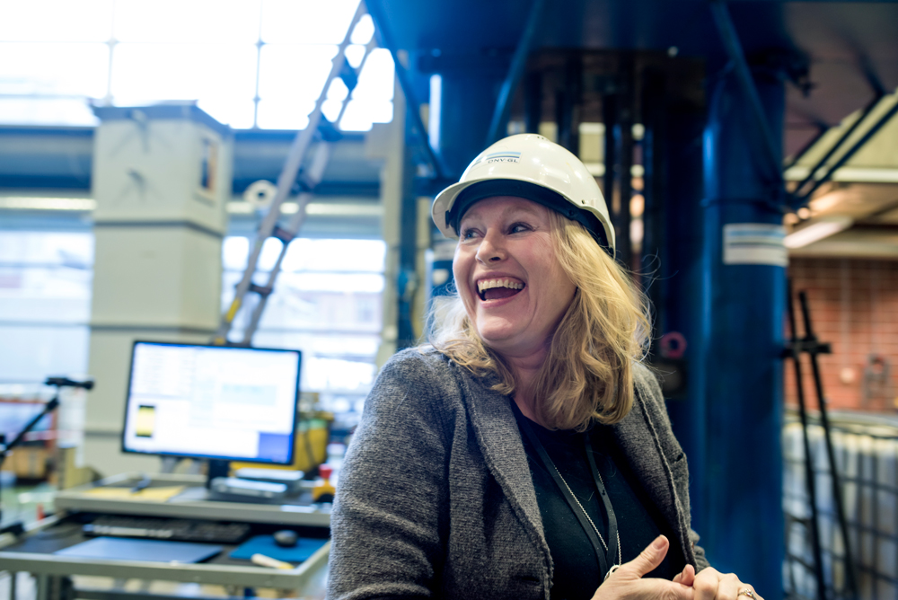 """""""CASA is an important arena for us,"""" says Agnes Marie Horn from DNV GL. Photo: Lena Knutli."""