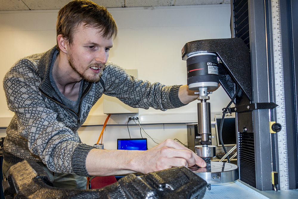 PhD Candidate Daniel Thor Morton focuses on Polymer Foams and Their Role in Pedestrian Impact Protection
