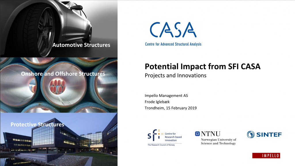 The CASA Impact report