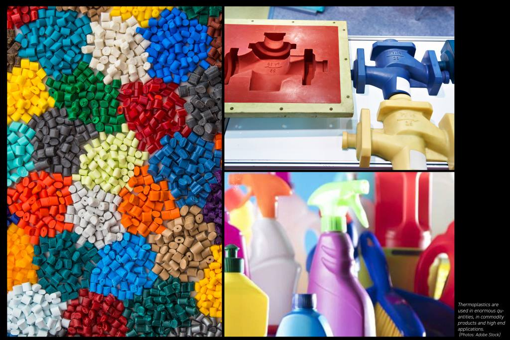 Polymer granulats and moulded parts
