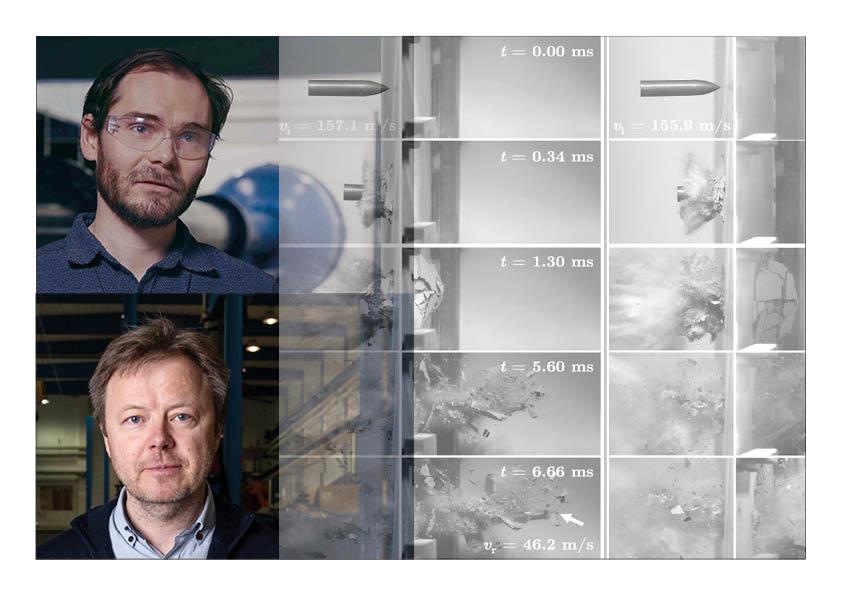 Ballistic Impact experts Tore Børvik and Martin Kristoffersen SFI CASA